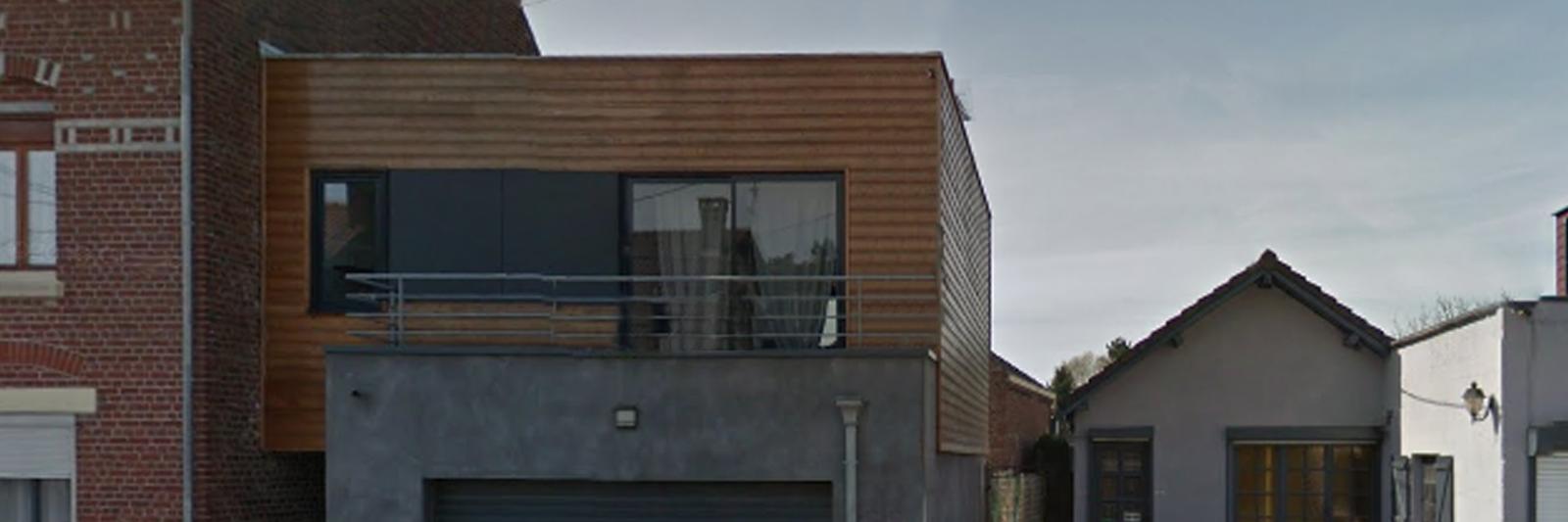 extérieur appartement le 99B localisation